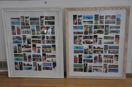 Moo mosaic frames