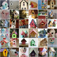 Meus Favoritos - Bird House (Arte Shi Chic) Tags: fdsflickrtoys