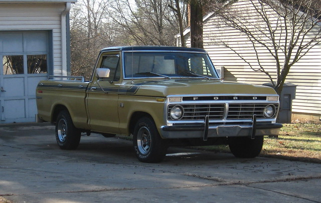 ford truck nc explorer north pickup f100 1975 carolina 1973