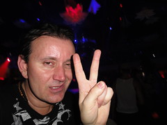 Peace Sign (RYANISLAND) Tags: gay party bar club lesbian fun disco dance bars dancing miami partying glbt nightclub transgender celebration lgbt clubs bisexual miamibeach queer discos whiteparty southbeach gaybar havingfun lincolnroad 305 gayclub dancebar southbeachmiami lgbtq thewhiteparty gaydisco 33139 scorebar zipcode33139 areacode305 wwwwhitepartyorg scorenightclub wwwscorebarnet whitejourney whitejourneyparty scoredisco scoreclub