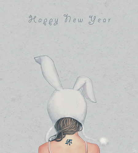 Happy rabbit year~