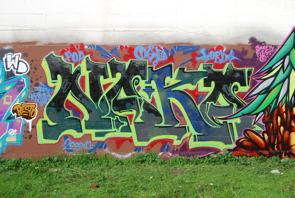 Naka Graffiti Piece