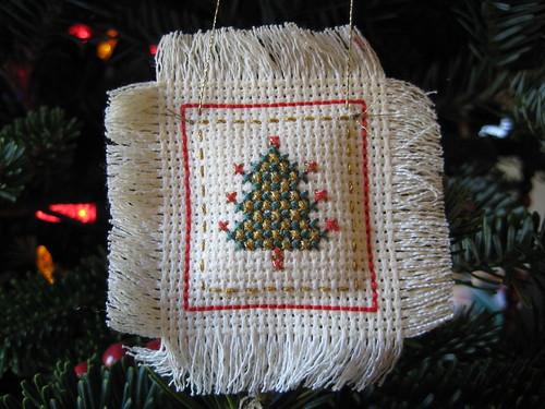 X-stitched tree