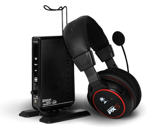 PS3 Wireless Headset Dolby 7.1 Surround Sound | Ear Force PX5 | Turtle Beach
