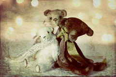 a new year to try again (Ragazza*) Tags: vintage miniature george polarbear oswald handmadebears igorevich petitewanderlings