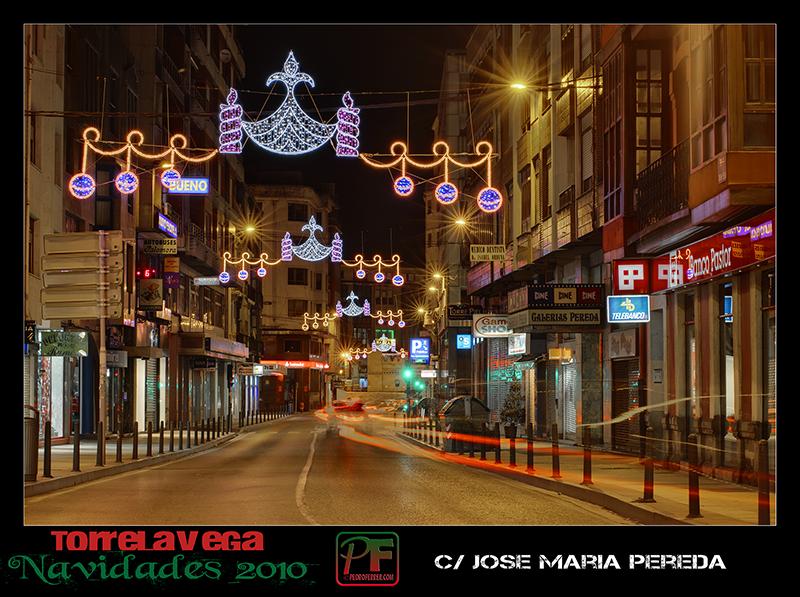 Torrelavega - Jose Maria Pereda  - Navidades 2010