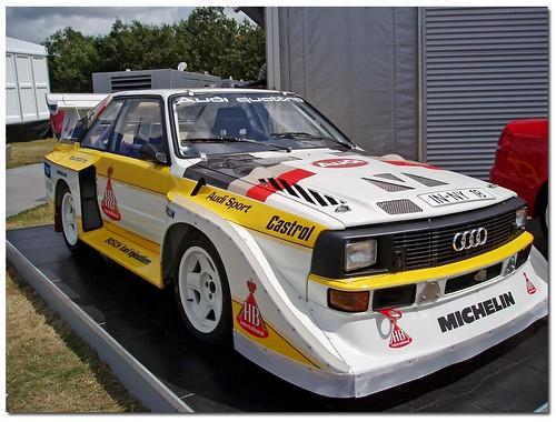 1985 Audi Sport Quattro S1 Rally Car Goodwood Festival Of Speed