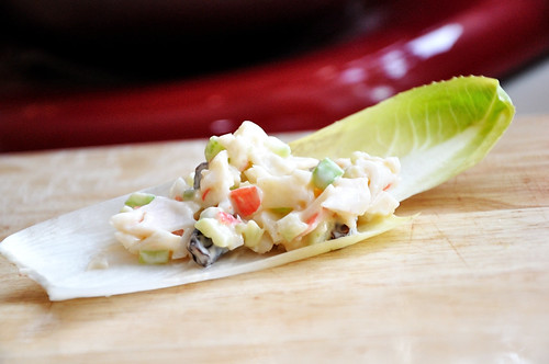 Crab Salad on Endive