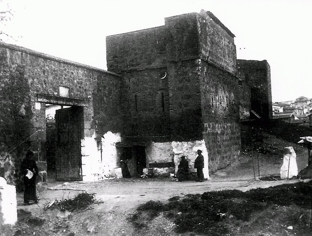 Puerta del Vado a comienzos del siglo XX