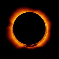 [フリー画像] 自然・風景, 天体・宇宙, 日食, 太陽, 201101110100
