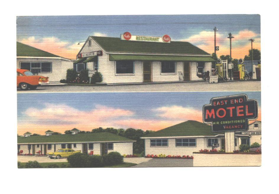 The East End Motel in Madison, Georgia