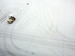 Making tracks (thomwisdom) Tags: japan airport sapporo chitose