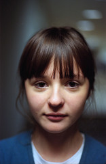 Zhenya00003 (Ponyatovsky) Tags: light shadow portrait blur love film girl face 30 analog 35mm canon hair eos 50mm student eyes girlfriend canoneos30 gray architect mylove zhenya youngarchitects f118 stepanova eugeniastepanova eughenia