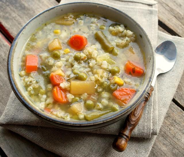 Veggie & barley Soup