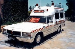 Holden WB 1 Tonner ambulance - Public Education Unit