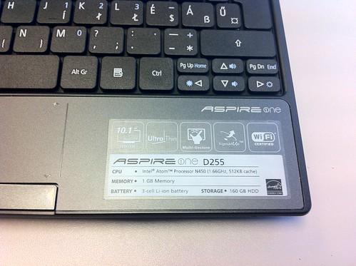 Android az Acer Aspire One D255-ön