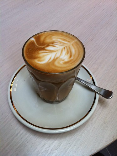 pretty soy latte