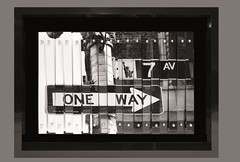 """One Way"" (Eden Fine Art Gallery, Mamilla , Jerusalem) Tags: nyc newyork art photography fineart bigapple 7thave lirone jerusalemartgallery edenmamilla"