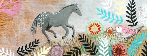Loose Horse in the Valley - Detail