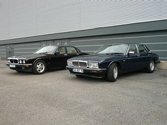 a couple of cats (Nicolas Fourny photographie) Tags: jaguar xj6 jaguarxj6 xj40 jaguarxj40