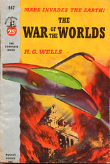 WAR OF THE WORLDS - Pocket Book Movie Tie-In Paperback, 1953 (BudCat14/Ross) Tags: sciencefiction waroftheworlds hgwells georgepal vintagepaperbacks movietieinpaperbacks