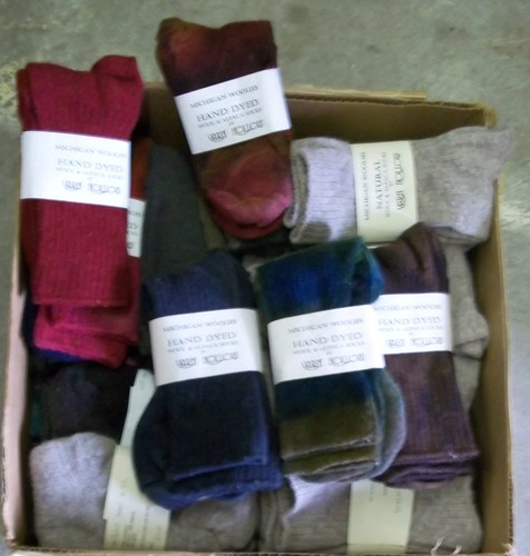 Alpaca/wool socks Co-op