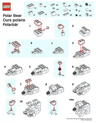 LEGO MMMB - January '11 (Polar Bear) Instructions (TooMuchDew) Tags: bear holiday lego january polarbear instructions legostore polarbr january11 ourspolaire legoimaginationcenter legoinstructions mmmb legoclub toomuchdew monthlyminimodelbuild licmoa minimodellbauevent
