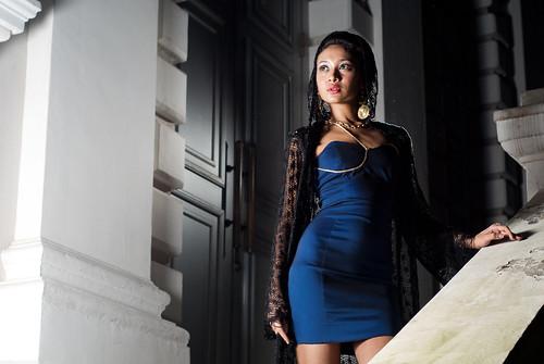 フリー写真素材, 人物, 女性, アジア女性, ドレス, ファッション, シンガポール人,