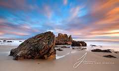 El Matador State Beach (Jinna van Ringen) Tags: california longexposure travel sea usa beach nature water rock night clouds america canon landscape photography eos evening coast sand rocks state ringen malibu shore lee nd elusive van elmatador matador newvision jorinde jinna leefilters elusivephoto elusivephotography elusiveactions 5dmarkii jorindevanringen jinnavanringen peregrino27newvision