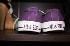 Chucks (Nochiee) Tags: purple flash converse allstar chucks canon500d