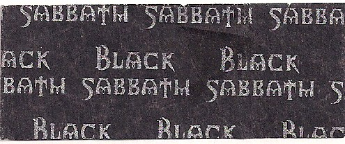 01/17/99 Black Sabbath @ Minneapolis, MN (Confetti)
