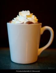 Leckere Trinkschokolade (sualk61) Tags: canon eos cafe hotchocolate hannover 5d canon5d canoneos5d eos5d sualk61 canonef50mmf12lusm borderfx trinkschokoldade