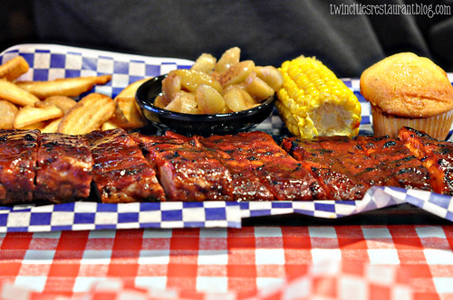 Rack of Ribs at Famous Dave's BBQ ~ Forest Lake, MN