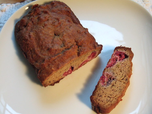Raspberry Tea Bread