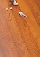 柚木地板—精品山纹