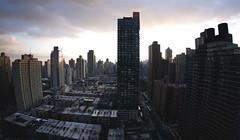 NYC, January 2011 (redwidow) Tags: newyorkcity cityscape manhattan tallbuildings nikkor105mmfisheye