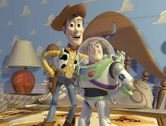 [Poster for Toy Story 3 with Toy Story 3, Lee Unkrich, Tom Hanks, Tim Allen, Joan Cusack]