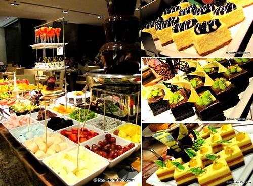 finally... desserts :)
