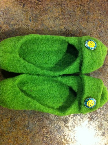 French press slippers