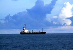 Bon Voyage ...!!!!! (**** Floyd's Ghost. ****) Tags: ocean sea coastguard india ship andamans indiannavy waterbody