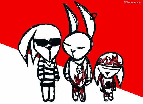 3 brutal rabbit