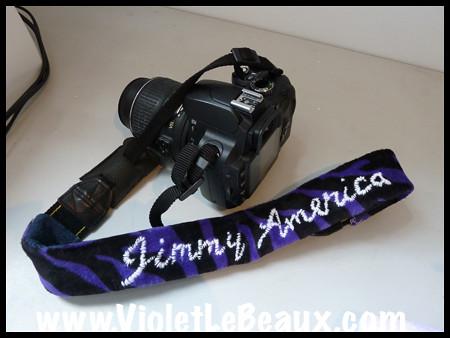 James' Camera Strap