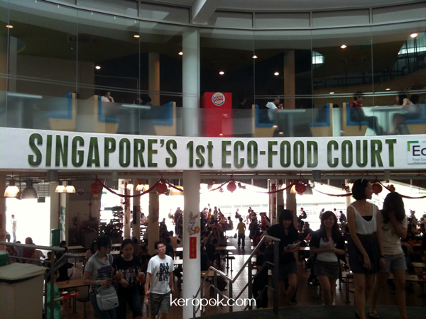 Singapore's 1st Eco-Food Court