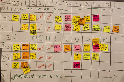 The UK GovCamp agenda by Paul Clarke