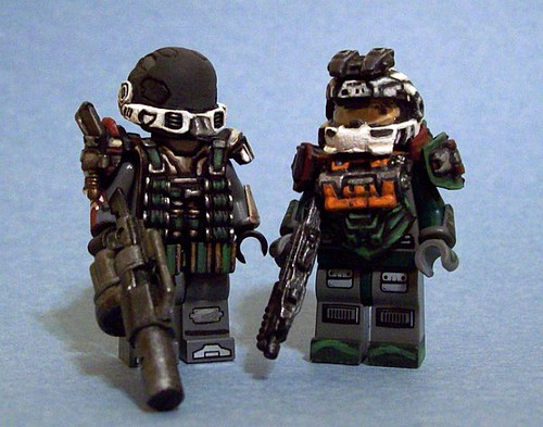 Custom minifig Emile & Jorge (Concept)
