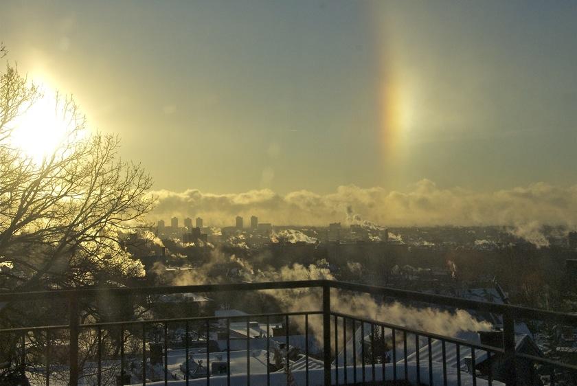 The oddest rainbow