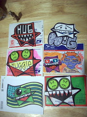 !!! (Huggie! (temporary trade impasse)) Tags: hug sticker hugs slap philadephia hugz huggie