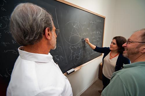 Mathematicians (DaveMosher) Tags: geometry mathematics calculus chalkboard mathematicians trigonometry