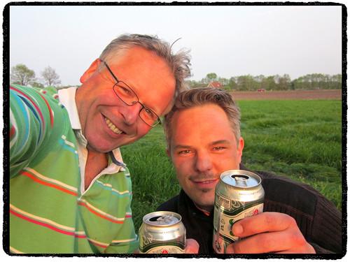 Mas en Max in the middle of nowhere... ;^) by Marcel van Gunst