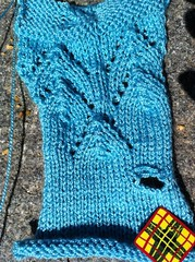 Findley lace swatch